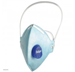 Drager X-Plore 1720, disposable facemask - FFP2-V (pack of 10)