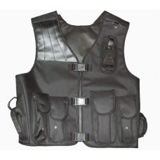 Protective vest and intervention type guard - type 1 (7 pockets)